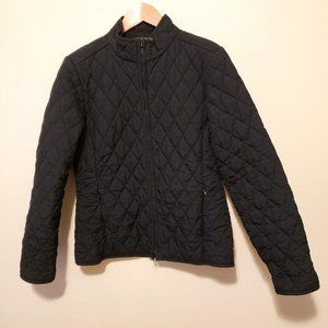 Eddie Bauer Black Quilted Jacket
